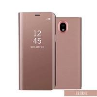 Smart View Flip Stand EU Version Case For Samsung Galaxy J3 J5 J7 2017 J530 J330