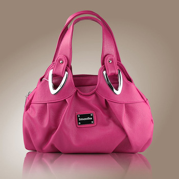 Hot Sale Brand PU Leather Women Handbag Vintage Lady small tote Bag Casual Women
