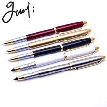 Guoyi A200, роскошная Подарочная чернильная ручка, 0,38, для учебы и офиса, школьные канцелярские принадлежности, Подарочная роскошная ручка и бизнес-ручка для отелей