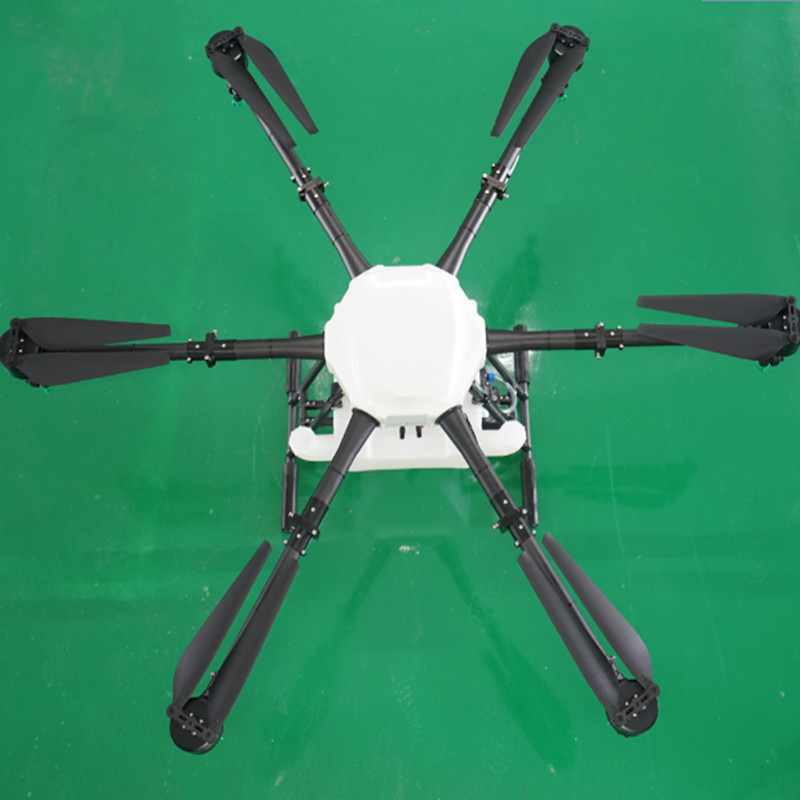Farm and plant insecticide spray protection for uav accessories large load rack agricultural plant protection machine 10L16KG lo agricultural uav 5kg d25 25mm foldable arm assemble parts including spray lance plant protection home garden pipes