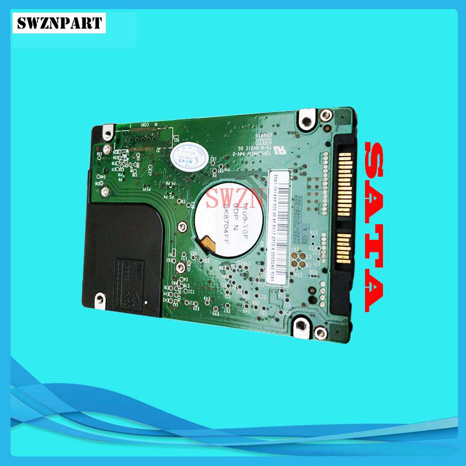 Hard Disk Drive SATA HDD For HP T790 T1300 CR647-67018 CR647-67007 CR650-67001 new hard drive disk for designjet z6800 photo 60inch sata hdd w fw f2s72 67001 67010 ink plotter parts