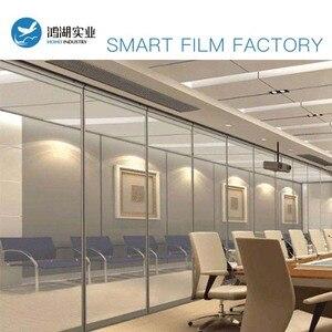 Image 5 - SUNICE PDLC חכם סרט פרטיות חשמלי חכם זכוכית להחלפה דבק חלון גוון עבור בית, משרד לקוחות מותאם אישית