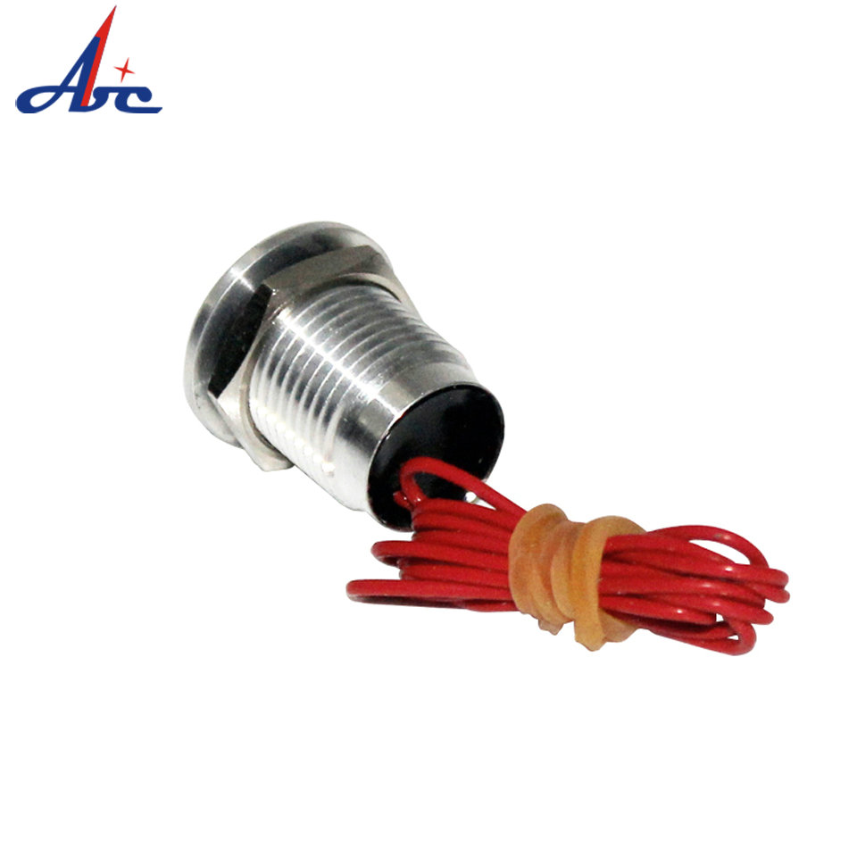 PS001 IP68 waterproof 12mm flat head momentary Aluminum oxidation small piezo switch in Switches from Lights Lighting