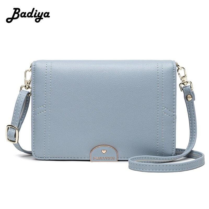 Brief Design Little Messenger Bag Women's Luxury Brand Leather Crossbody Bag For Women Shoulder Small Handbag Lady Wallet Phone