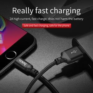 Image 4 - HOCO Beste USB Kabel Lade für iPhone 8 7 6 5 plus USB Kabel Schnelle Ladegerät Daten Kabel Für iPhone 11 Pro X XS Max XR iPad Kabel