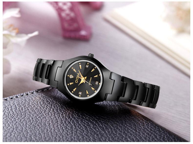 Hk dom luksusowe top marka męska zegarek wolframu stal wrist watch wodoodporna biznesu kwarcowy zegarek fashion casual sport watch 15