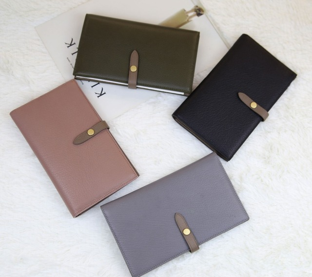 2017 Genuine leather Women short clutch wallets high quality card holder passport cover holder ladies long wallet roomy purse