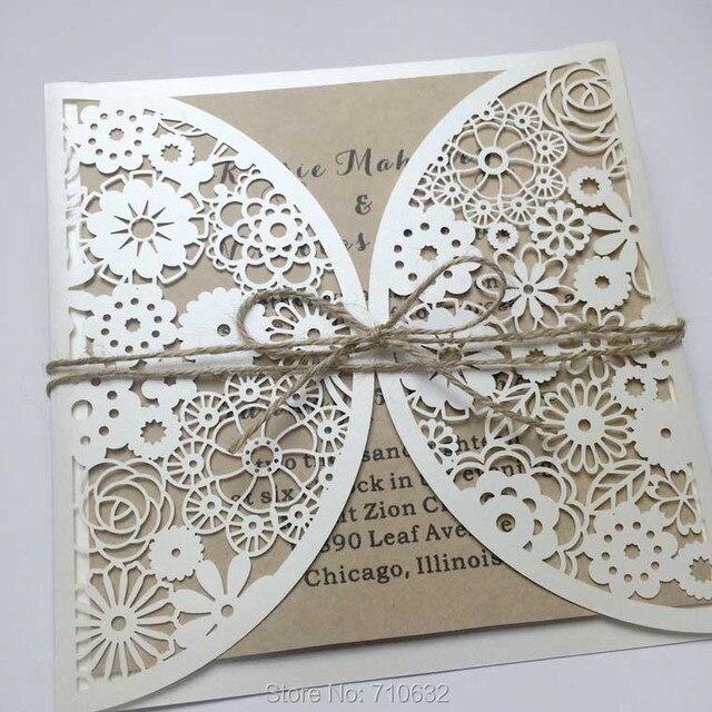 Hochzeitseinladungen Fach Hochzeitseinladungen Blume Thema, Papier ...