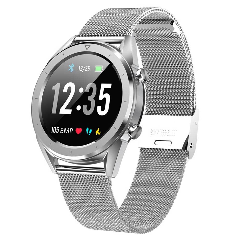 Letine DT28 montre intelligente paiement Mobile ECG moniteur de fréquence cardiaque Tracker de Fitness plusieurs Modes de sport montre intelligente tactile plein écran