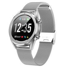Letine DT28 Astuto Mobile Della Vigilanza Pagamento ECG Monitor di Frequenza Cardiaca Fitness Tracker Più Sport Modalità a Schermo Intero Touch Smartwatch