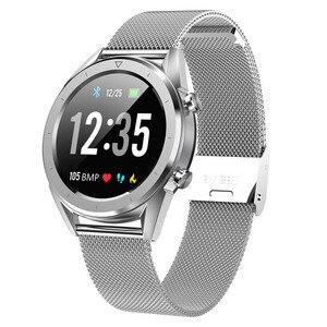 Image 1 - Letine DT28 ECG Monitor De Freqüência Cardíaca Relógio Inteligente de Pagamento Móvel Múltiplos Modos de Esportes de Fitness Rastreador Smartwatch Tela Sensível Ao Toque Completa