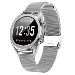 Image 1 - Letine dt28 스마트 시계 모바일 지불 ecg 심박수 모니터 피트니스 트래커 다중 스포츠 모드 전체 화면 터치 smartwatch