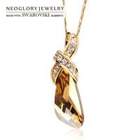 Neoglory Jewelry 2012 Mande With Swarovski Element Crystal Crystal Pendant New Women Lady Fashion Necklace Choose