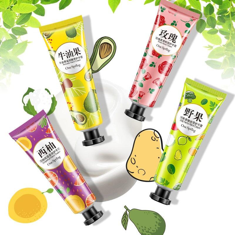 Hand Creams Plant Hand Cream Wild Herbs Grapefruit Rose Moisturizing Hand Cream Nourishing Anti Chapping Oil Control Hand Care