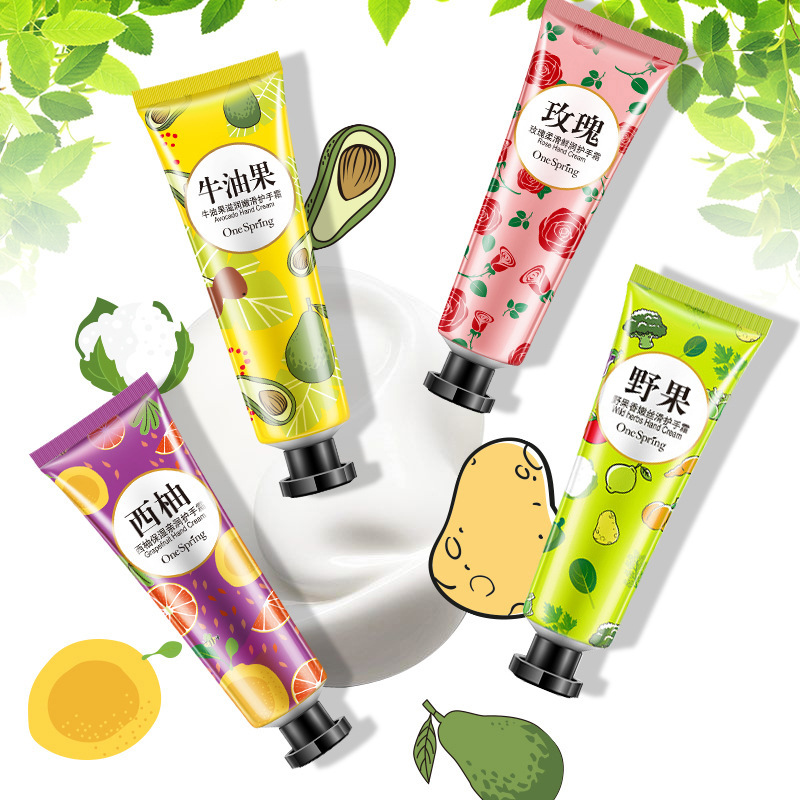 Hand Creams Plant Hand Cream Wild Herbs Grapefruit Rose Moisturizing Hand Cream Nourishing Anti Chapping Oil Control Hand Care