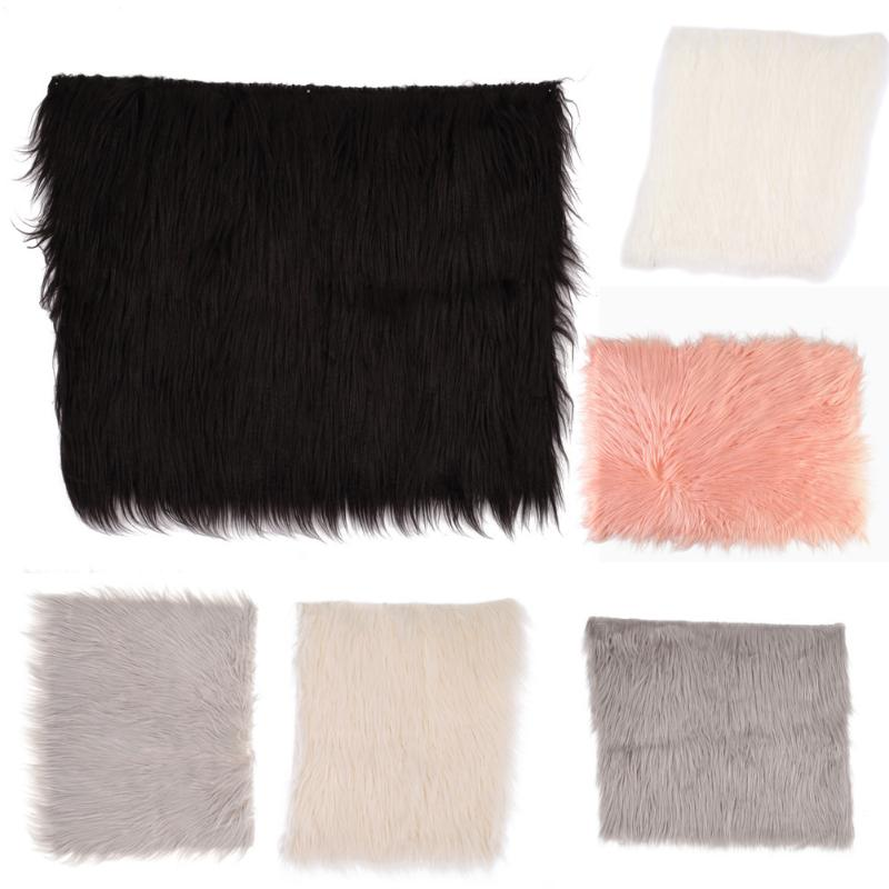 Newborn Photography Props Soft Baby Fur Blankets FauxWool Blankets Cute Infant Kids Fotografia De Baby Fotografia for 0-6M