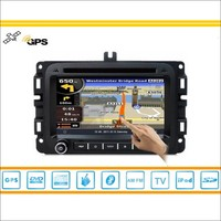 For 2013 2014 Dodge Ram Car GPS Navigation System Radio TV DVD BT IPod 3G WIFI