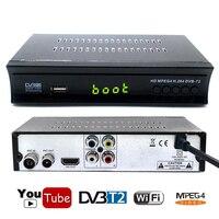 Koqit DVB T2 Terrestrial Converter Receiver FTA Digital TV Box Tuner EPG DVB T2 Set Top Box USB Record Wifi Youtube IPTV Antenna