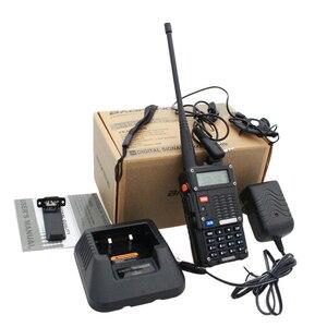 Image 5 - Original 2PCS Baofeng UV 5RT Walkie Talke For Hunting UV 5RT High Power Transceiver Advanced Amateur Dual Band Radio Station
