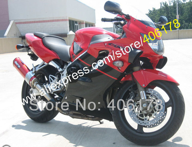 Hot SalesFairing For Honda CBR 600F4 CBR600 CBR600RR 1999 2000 600 F4 99 00 Red Black ABS Fairing Injection Molding