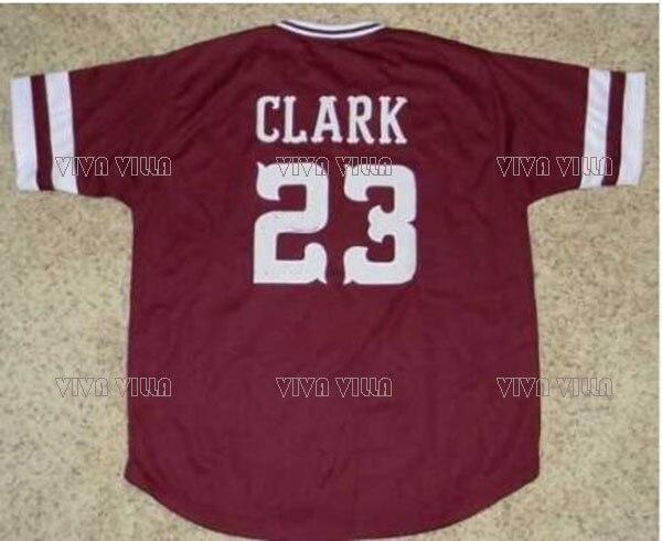 Mississippi State Baseball Jersey 23 Will Clark 6 Rafael Palmeiro Throwback Baseball Jersey Stitched S-4XL Free Shipping brand baseball jerseys 28 s xx coolbase
