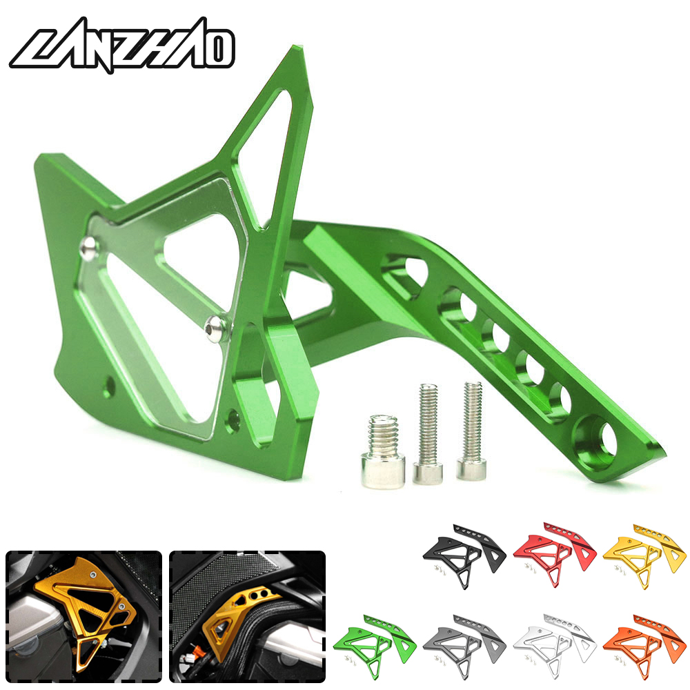 CNC Aluminum Motorcycle Fuel Injection Guard Side Cover Protector Modified Accessories for Kawasaki Z1000 2014 2015 2016 2017CNC Aluminum Motorcycle Fuel Injection Guard Side Cover Protector Modified Accessories for Kawasaki Z1000 2014 2015 2016 2017