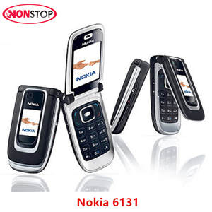 Nokia 6131 Unlocked Mobile phone GSM Camera Phone Multi Languages Add Russian/Arabic
