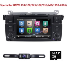 7inch Car DVD Player for BMW E46 M3 3Series MG Rover GPS CAR DVD Navigation 1 Din Support iPod BT USB FM Free Camera
