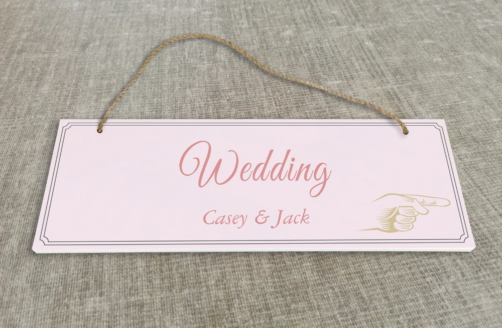 Personalized Outdoor Wedding Reception & Ceremony Decoration Directional Signs wedding sign board SB019H