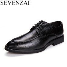 men italian elegant formal pointed toe dress winter leather shoes 2017 luxury male working footwear fashion oxford shoes for men недорого