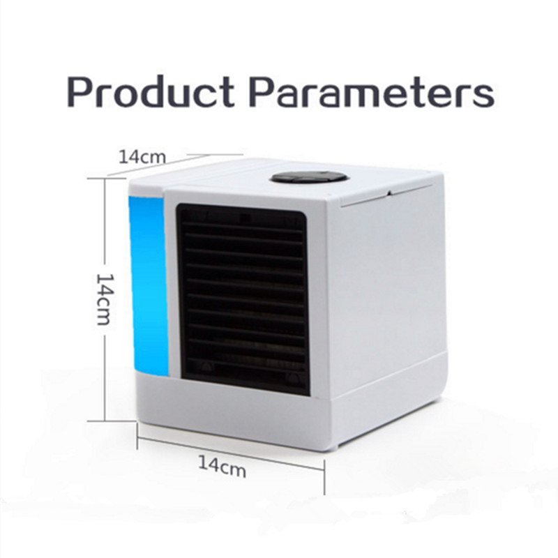 UKLISS Evaporative Air Cooler and Humidifier Portable Air Conditioners for Office or Dorm Rooms Air Purifier Humidifier