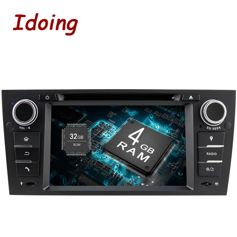 Idoing Android8.0/4G RAM/32G ROM/8Core/<font><b>1Din</b></font> For BMW E90 Fast Boot Car <font><b>DVD</b></font> Multimedia Player <font><b>Autoradio</b></font> HD Capacitive TouchScreen image