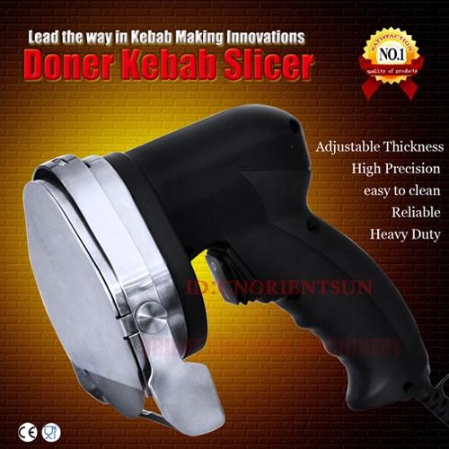 Kebab cutter kebab slicer stainless steel Master Cut made in UK