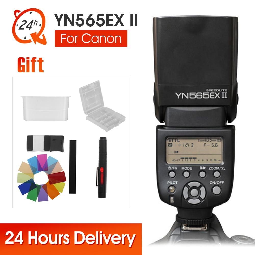 Yongnuo YN-565EX II Speedlite YN565EX II For Canon 6d 60d 5d mark iii 550d 1100d 650d 600d 700d 7d 5d2 Camera Wireless TTL Flash yongnuo yn 565ex ii gn58 ttl flash speedlite for canon t3i t2i 1200d 1000d 650d 600d 550d 6d 7d 5d ii 5d mark iii 70d 60d dslr