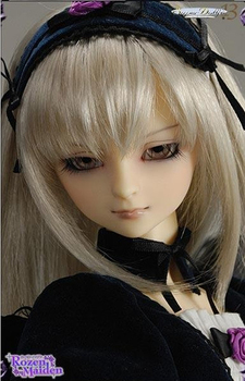Full Set Volks Suigintou top quality 1/3 bjd doll girl female manikin clothes wig boots gift sd makeup included best resin цена 2017
