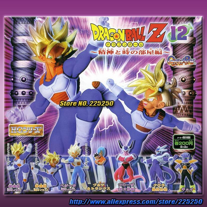 Japanese Anime DRAGONBALL Dragon Ball Z/Kai Original BANDAI Gashapon PVC Toy Action Figures HG 12 - Full set DragonBall Store store