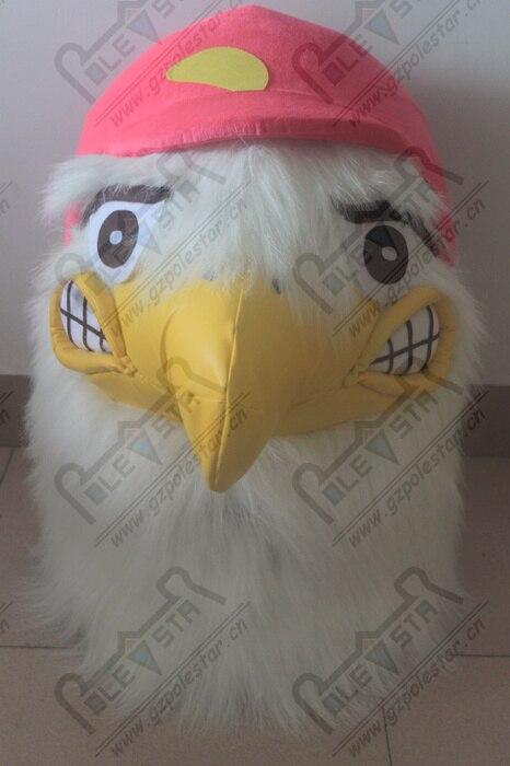 Costumes de mascotte d'oiseau orange costumes de mascotte d'aigle - 4