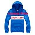 Logotipo impresso na tela de impressão Hoodies Em Branco Logos Hoodie Feito Sob Encomenda personalizado Impressão Creat homens das camisolas do Pulôver personalizado HY