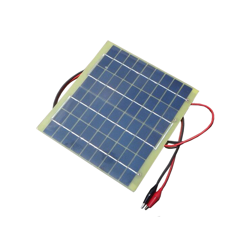 High Quality 18V 5W Portable Solar Panel 290mAh Polycrystalline Silicon Solar Cell Panel Battery Charger Multipurpose Panel