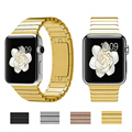 42/38mm original de lujo de acero inoxidable venda de reloj de metal correa para la muñeca desmontable para apple watch longitud de la pulsera ajustable i90.