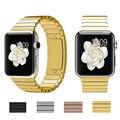 42/38mm original de luxo em aço inoxidável relógio banda de metal alça de pulso destacável para apple watch pulseira comprimento ajustável i90.