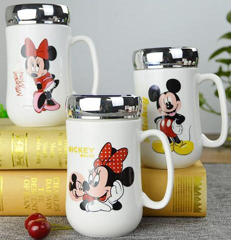 1 pcs cartoon mickey minnie ceramic coffee milk tea mug cup best christmas gift for girl no spoon in mugs from home garden on aliexpresscom alibaba - Best Christmas Gift For Girlfriend