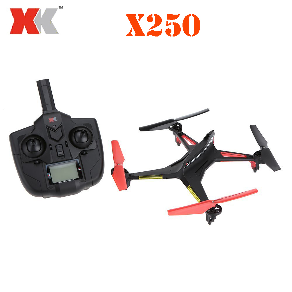XK Alien X250 2.4G 4CH 6 Axis RC Quadcopter One Key to Roll/Headless Mode/One Key to Return RTF xk x250 4ch 6 axis rc quadcopter rtf 2 4g xk alien x250 free shipping