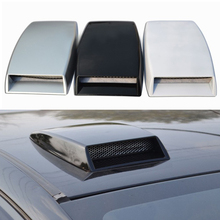 Universal Simulation Decorative Air Flow Intake Scoop Bonnet Vent Cover Hood Car-styling Modified Anti-fade Strong Stickiness