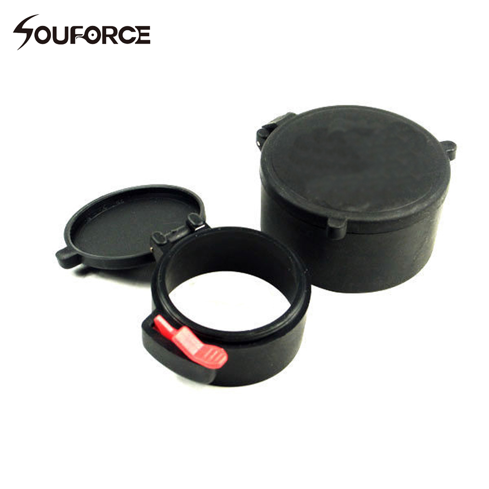 10 Sets 58mm&43mm Scope Dustproof Cover scope lens covers Rubber Cap for 50mm Lens Rifle Scope Hunting Accessories 1pcs 30mm brand rifle scope cover flip up quick spring cap open objective lens eyes p40