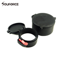 10 Sets 58mm&43mm Scope Dustproof Cover scope lens covers Rubber Cap for 50mm Lens Rifle Scope Hunting Accessories