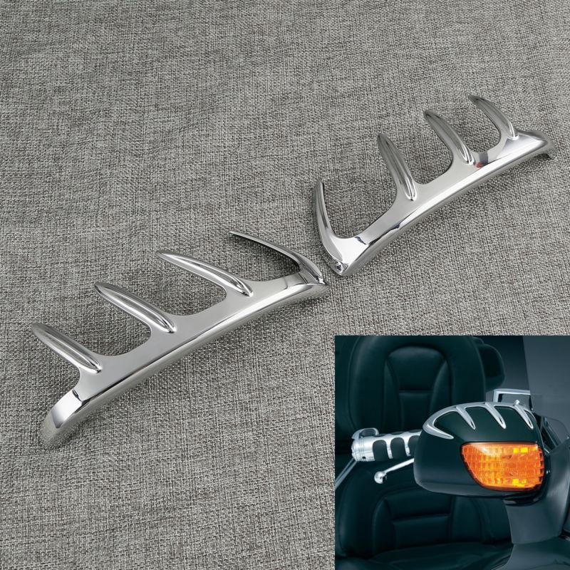 Хром Медвежий Коготь зеркало акценты Чехлы для Хонда goldwing GL1800 модели 2001-2017