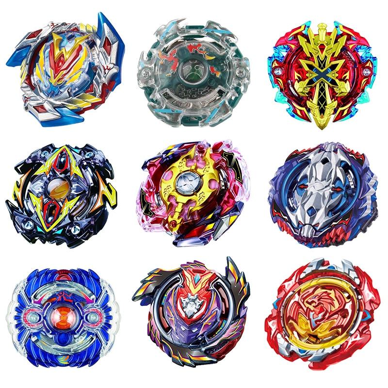 1pc Bey blad Beyblade Burst Metal Plast Fusion 4D Utan Launcher Bayblade Blades Leksaker Spinning Top Gift For Children # E
