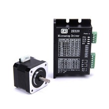4218HB1 + 2H320 drive stepper motor kit with matching motor drive 128 subdivision thb7128 step motor drive control panel 128 3 a current subdivision control module
