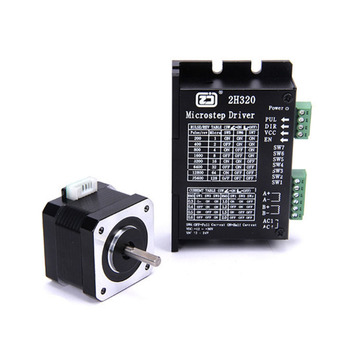 4218HB1 + 2H320 drive stepper motor kit with matching motor drive 128 subdivision